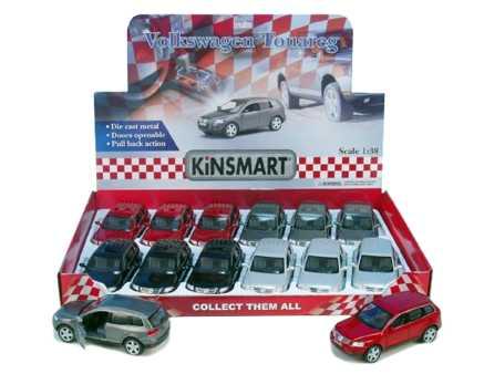 KINSMART Auto VW Touareg Volkswagen kovové
