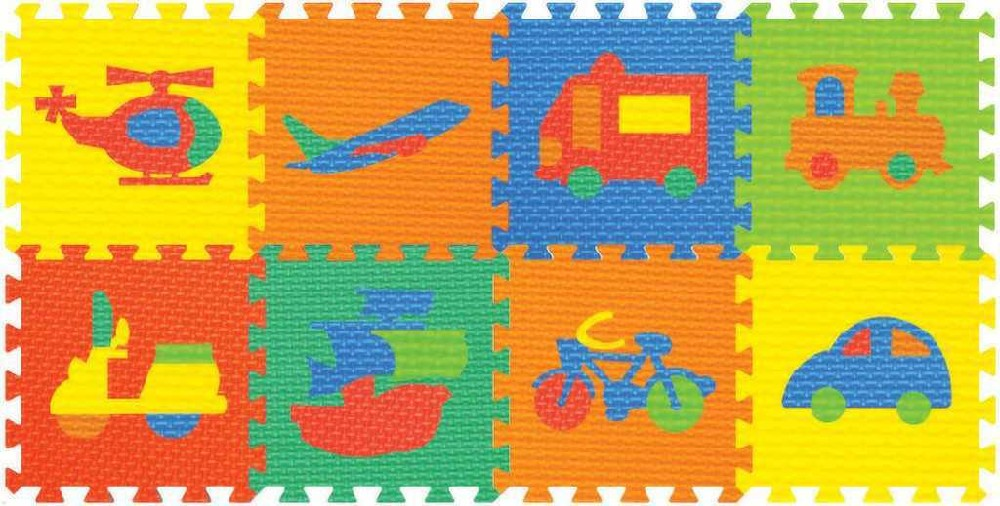 Koberec (pěnové puzzle) dopravní prostředky