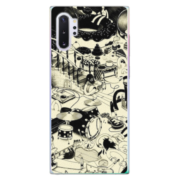 Plastové pouzdro iSaprio - Underground - Samsung Galaxy Note 10+