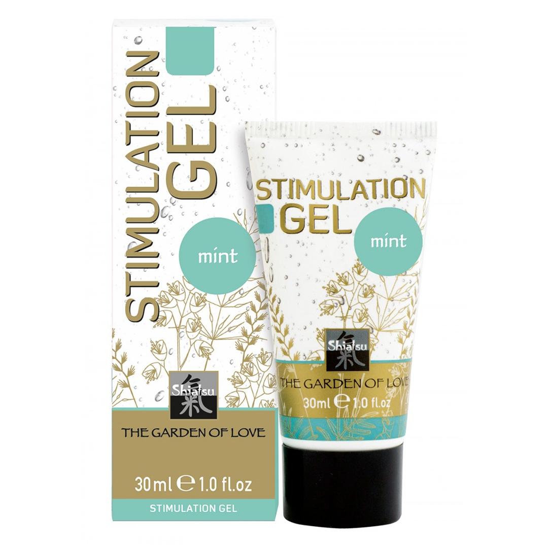SHIATSU stimulační gel 30 ml máta