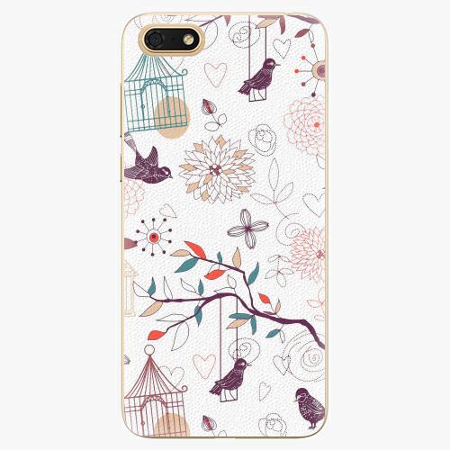 Plastový kryt iSaprio - Birds - Huawei Honor 7S