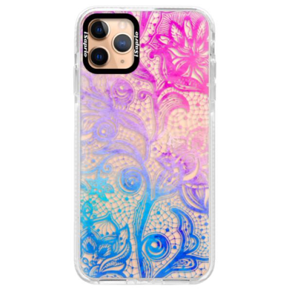 Silikonové pouzdro Bumper iSaprio - Color Lace - iPhone 11 Pro Max