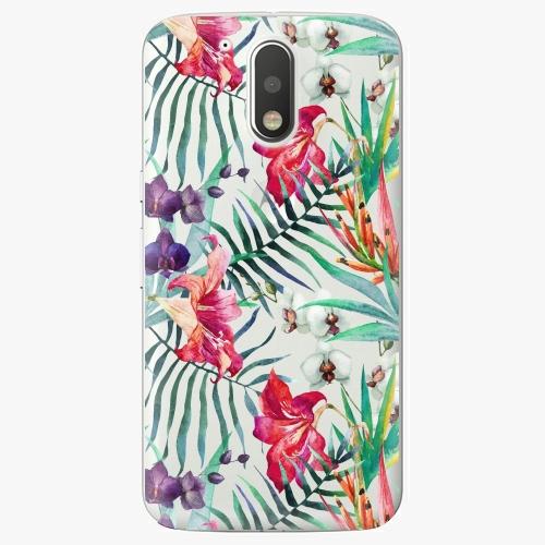 Plastový kryt iSaprio - Flower Pattern 03 - Lenovo Moto G4 / G4 Plus