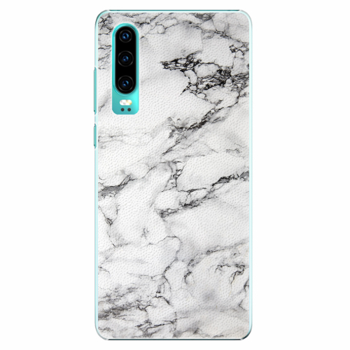 Plastový kryt iSaprio - White Marble 01 - Huawei P30