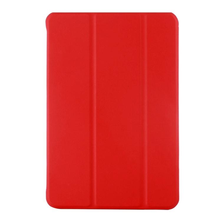 Kožený kryt / pouzdro iSaprio pro iPad Mini 4 červený