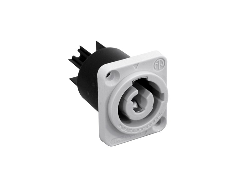 Neutrik PowerCon grey panel NAC3 MPB-1