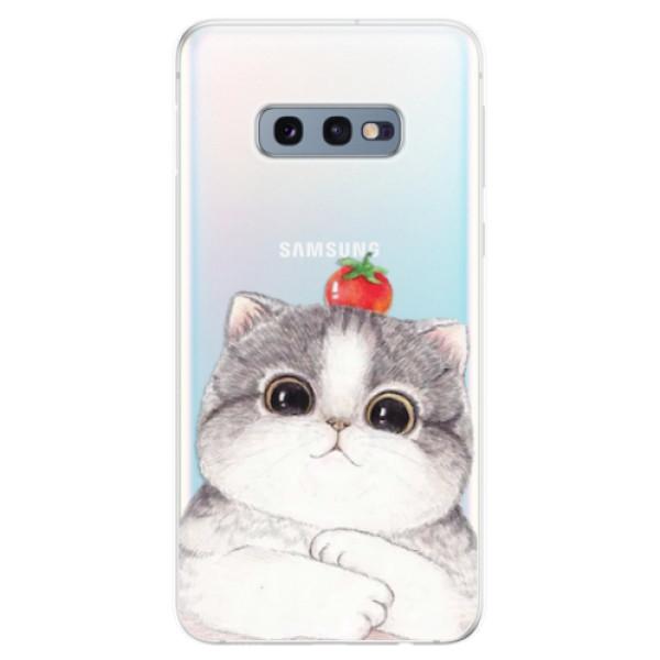 Odolné silikonové pouzdro iSaprio - Cat 03 - Samsung Galaxy S10e