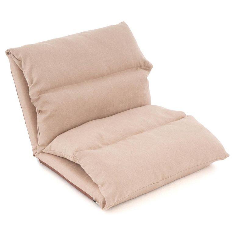 Nastavitelná sofa, barva khaki