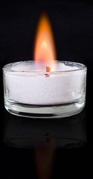 Romantické čajové svíčky