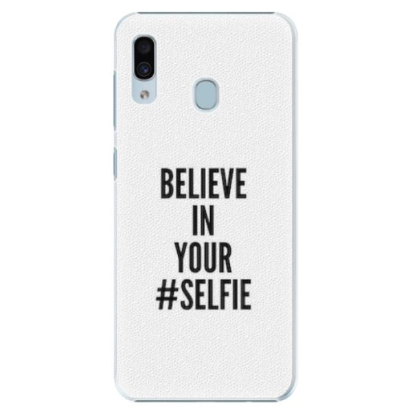 Plastové pouzdro iSaprio - Selfie - Samsung Galaxy A20