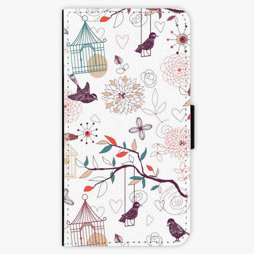 Flipové pouzdro iSaprio - Birds - iPhone X