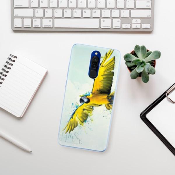 Odolné silikonové pouzdro iSaprio - Born to Fly - Xiaomi Redmi 8