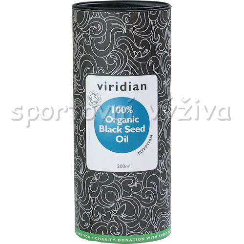 Viridian Black Seed Oil Organic - BIO 200ml