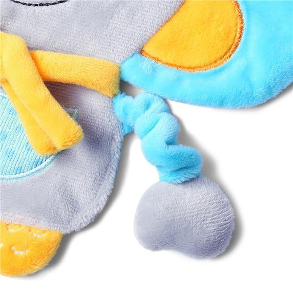 Plyšová hračka Baby Ono Flat Mouse Kirstin - šedá