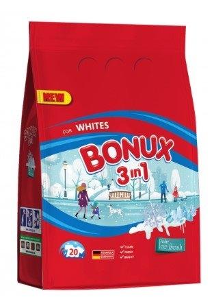 White Polar Ice Fresh prací prášek, 20 praní, 1,5 kg