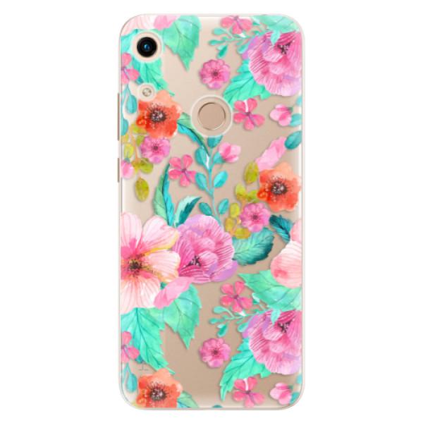 Odolné silikonové pouzdro iSaprio - Flower Pattern 01 - Huawei Honor 8A