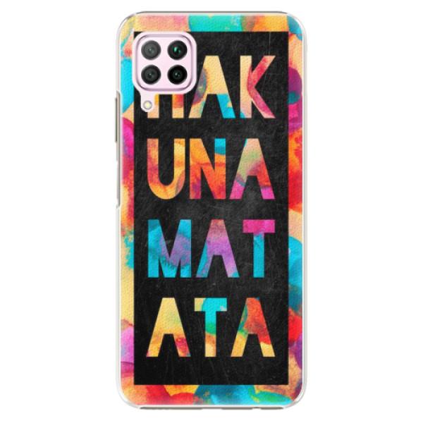 Plastové pouzdro iSaprio - Hakuna Matata 01 - Huawei P40 Lite