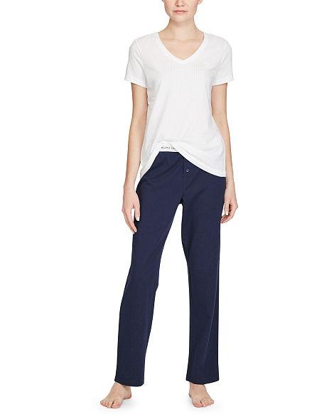 Dámské triko l8151229 - Ralph Lauren - Bílá/XS