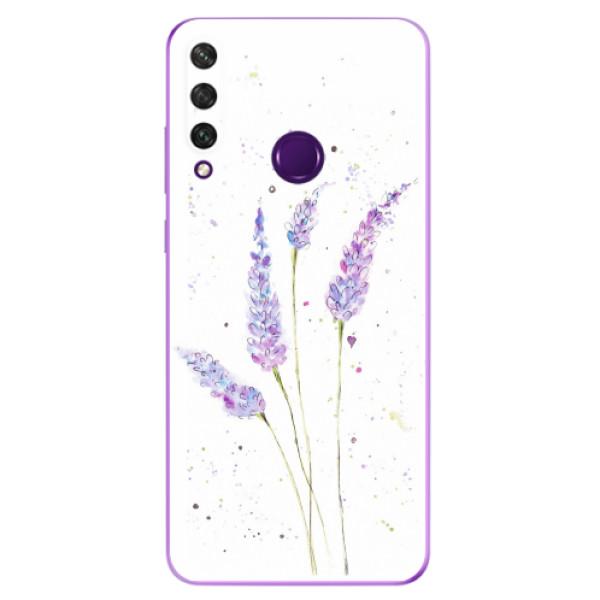 Odolné silikonové pouzdro iSaprio - Lavender - Huawei Y6p
