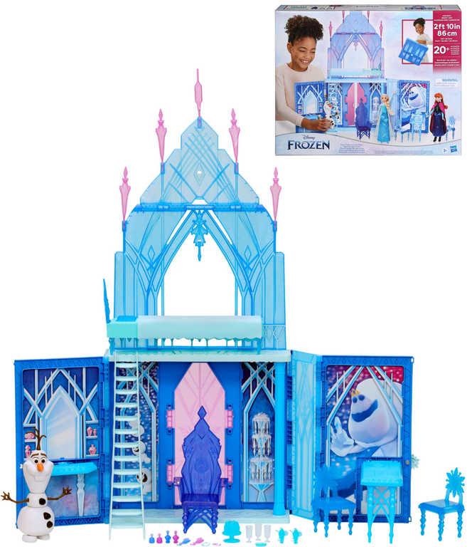 HASBRO Elsin palác Frozen 2 (Ledové Království) herní rozkládací set s Olafem