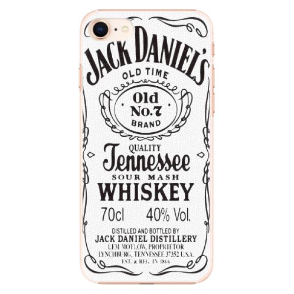 Plastové pouzdro iSaprio - Jack White - iPhone 8