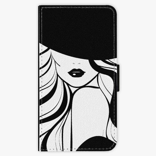 Flipové pouzdro iSaprio - First Lady - iPhone X