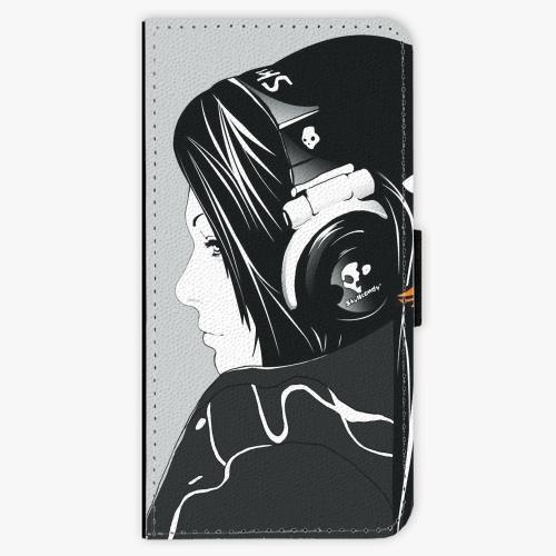 Flipové pouzdro iSaprio - Headphones - Nokia 6