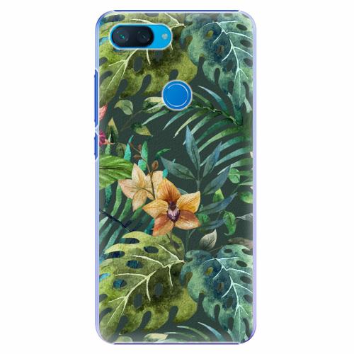 Plastový kryt iSaprio - Tropical Green 02 - Xiaomi Mi 8 Lite