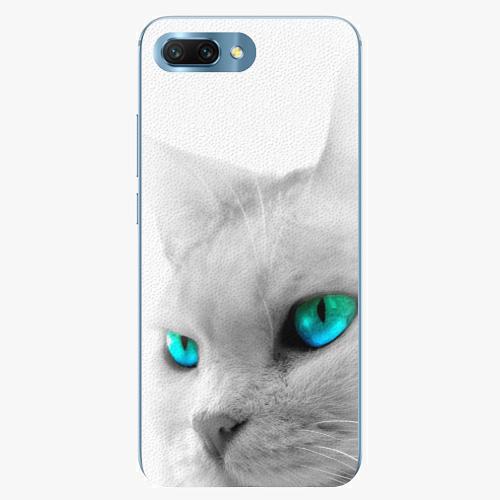 Silikonové pouzdro iSaprio - Cats Eyes - Huawei Honor 10