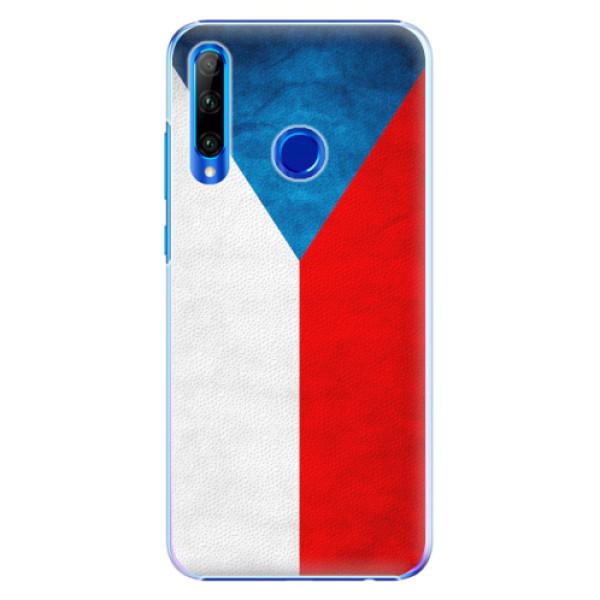 Plastové pouzdro iSaprio - Czech Flag - Huawei Honor 20 Lite