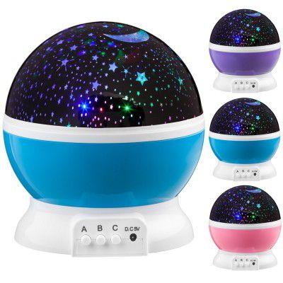 LED projektor noční oblohy - modré