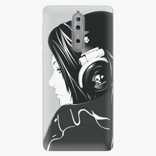 Plastový kryt iSaprio - Headphones - Nokia 8