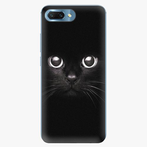 Plastový kryt iSaprio - Black Cat - Huawei Honor 10