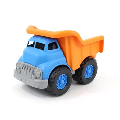 Green Toys Nákladní auto sklápěcí modro - oranžové