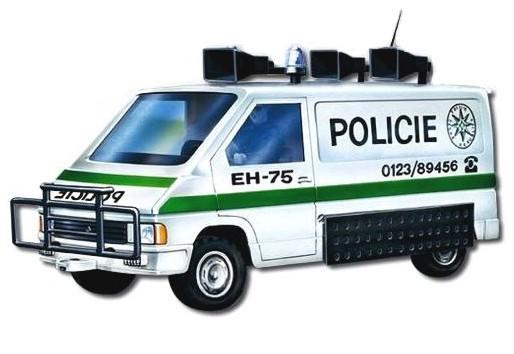 MONTI SYSTÉM 27 Auto Renault Trafic POLICE stavebnice MS27 0102-27