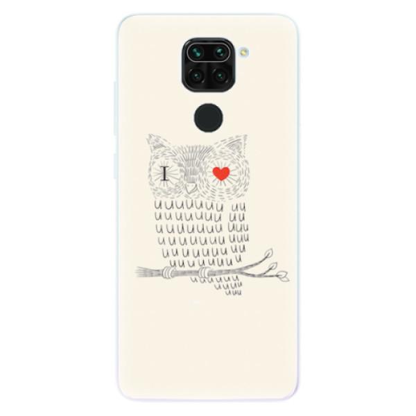 Odolné silikonové pouzdro iSaprio - I Love You 01 - Xiaomi Redmi Note 9
