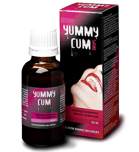 Yummy cum - kapky pro lepší chuť sperma 30 ml
