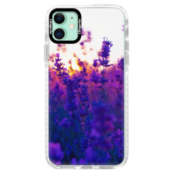Silikonové pouzdro Bumper iSaprio - Lavender Field - iPhone 11