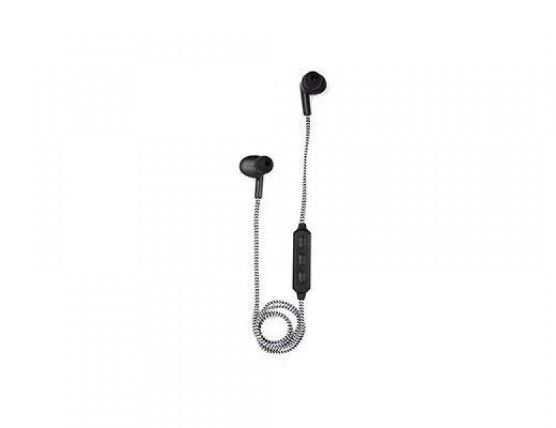 Bezdrátová sluchátka - černá