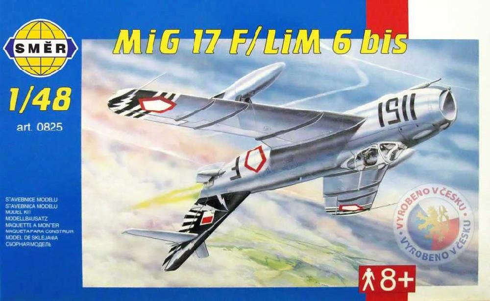 SMĚR Model letadlo Mig 17 F 1:48 (stavebnice letadla)