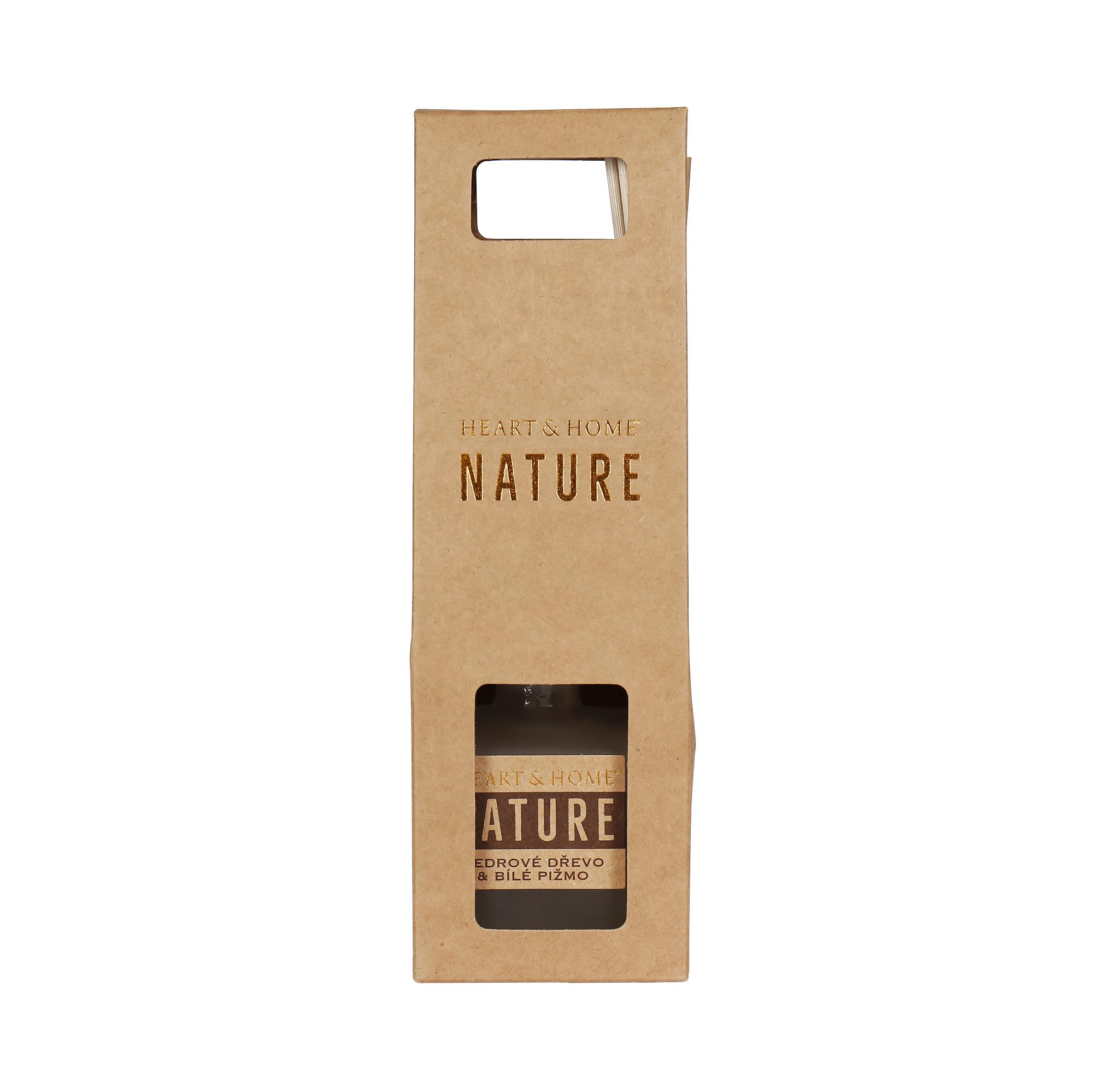 Difuzér - Cedrové dřevo a bílé pižmo