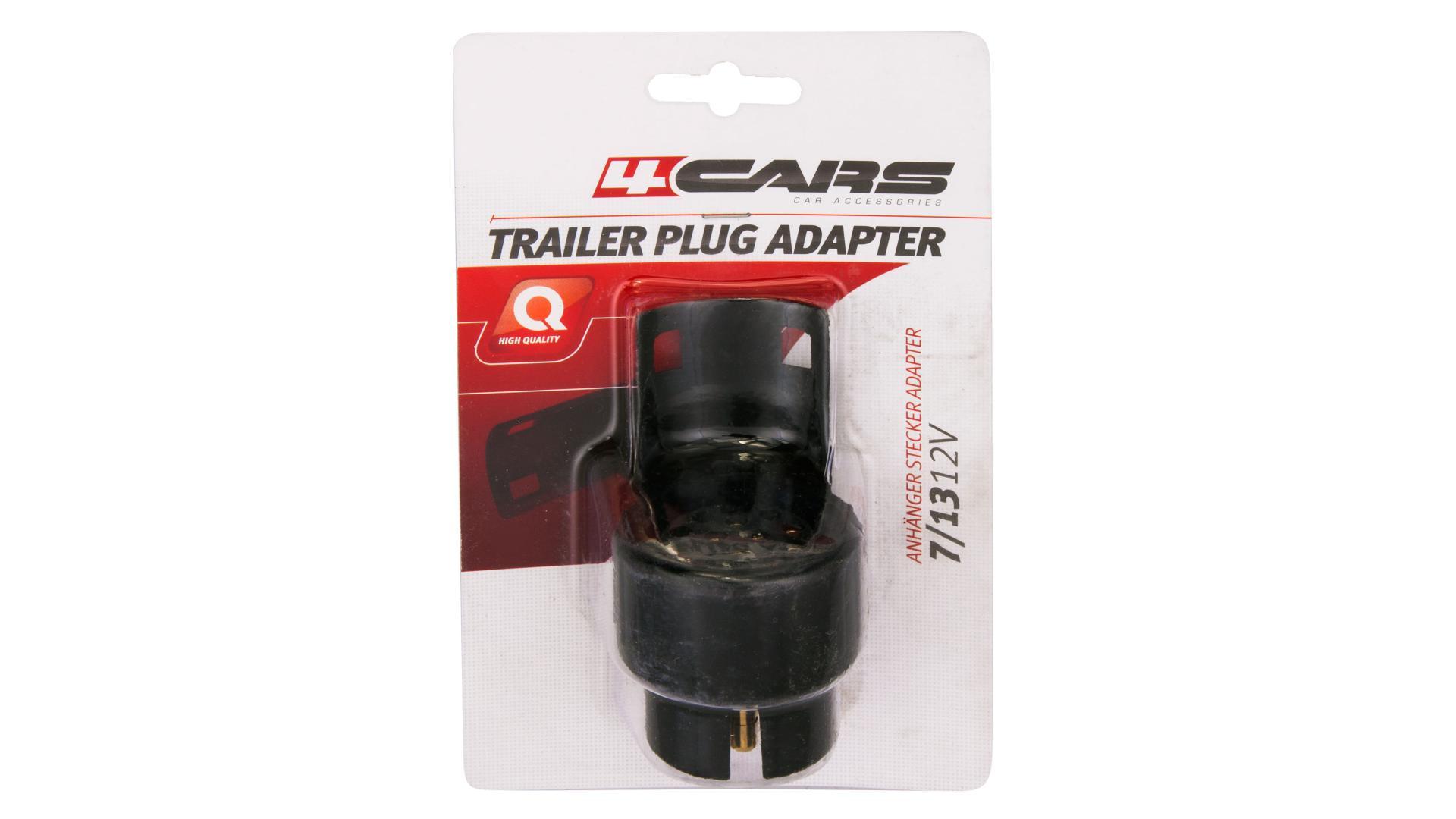 4CARS Redukce na přívěsný vozík 7/13 pin