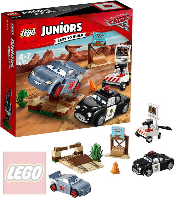 LEGO JUNIORS Závodní okruh Cars (Auta) 10742 STAVEBNICE
