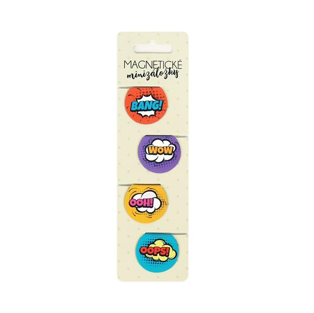 Magnetické minizáložky - Magnetické záložky - Komiks