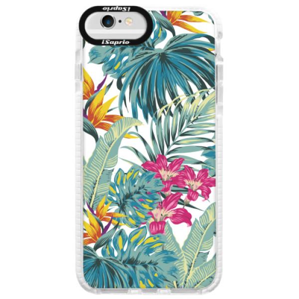 Silikonové pouzdro Bumper iSaprio - Tropical White 03 - iPhone 6/6S