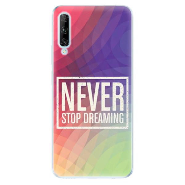 Odolné silikonové pouzdro iSaprio - Dreaming - Huawei P Smart Pro