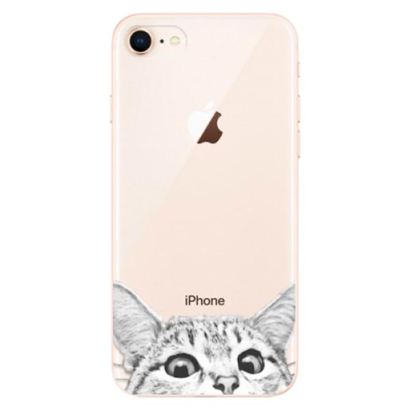 Odolné silikonové pouzdro iSaprio - Cat 02 - iPhone 8