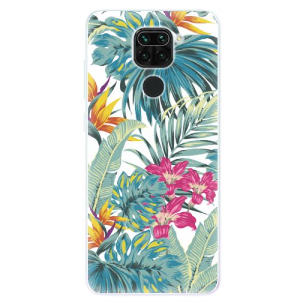 Odolné silikonové pouzdro iSaprio - Tropical White 03 - Xiaomi Redmi Note 9