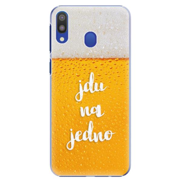 Plastové pouzdro iSaprio - Jdu na jedno - Samsung Galaxy M20