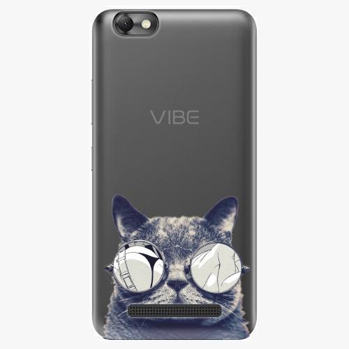 Plastový kryt iSaprio - Crazy Cat 01 - Lenovo Vibe C